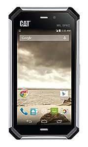Caterpillar CAT S50 Smartphone (1,2GHz Quad-Core Prozessor, 8GB interner Speicher, 11,9 cm (4,7 Zoll) IPS Display, 8 Megapixel Kamera, Bluetooth, Android 4.4 KitKat) silber