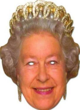 Queen Elizabeth - Königen - (König Maske)