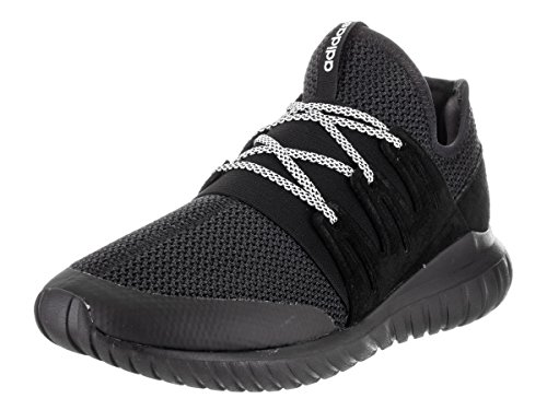 Adidas Tubular Radial Synthétique Baskets CoreBlack-CoreBlack