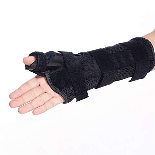 Daumen und Handgelenksehnenentzündungsschiene, Immobilisiert Daumengelenk zur Behandlung von Tenosynovitis-Sehnenschmerzen, Schwellungen und entzündlicher Arthritis,rightHand