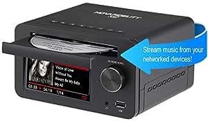 Cocktail Audio CA-X12, 2 TB HDD - HD HiFi Musik Server mit Datenbank, CD Ripper, hochwertigem DAC, eingebautem 60W Verstärker, Netzwerk Streamer und 2 TB Festplatte