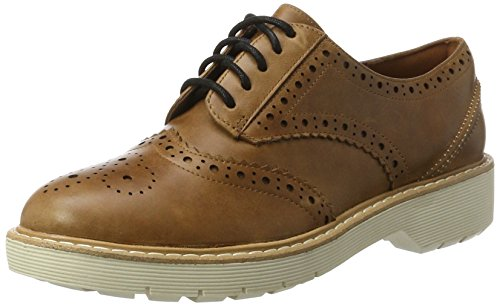 e Echo Oxfords, Braun (Tan Nubuck), 41.5 EU ()