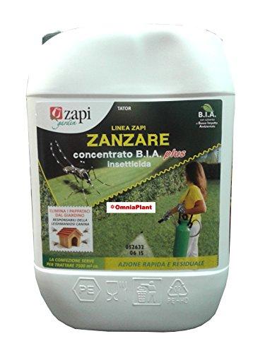 Insetticida tator zapi bia - lt 5 concentrato zanzara tigre , insetti molesti