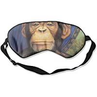 Sleep Eye Mask Oil Chimpanzee Lightweight Soft Blindfold Adjustable Head Strap Eyeshade Travel Eyepatch E6 preisvergleich bei billige-tabletten.eu