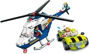 Mega Construx- Parque de Bomberos, Juguete de Bloques de construcción para niños + 5 años (Mattel GLK56)