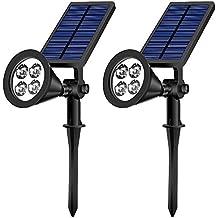 Lampade Solari Da Giardino Amazon.Lampade Solari A Led Da Esterno Grde Amazon It