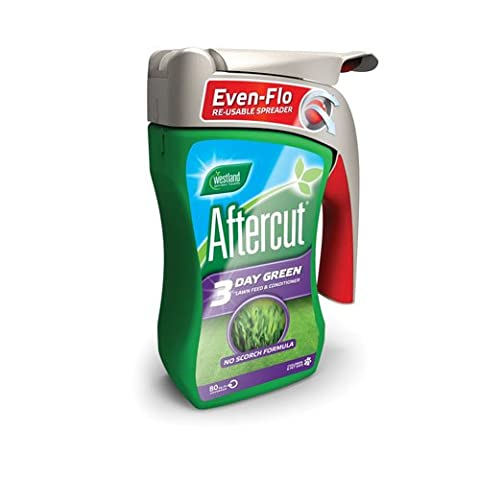 Aftercut 3 Day Green Lawn Feed and Conditioner Even-Flo Spreader,