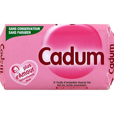 Cadum Savon à l'huile d'amandes douces bio L'unité de 100g
