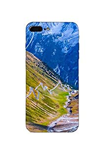 Mikzy Printed Designer Back Cover Case for Apple Iphone 7 Plus (Multicolour)