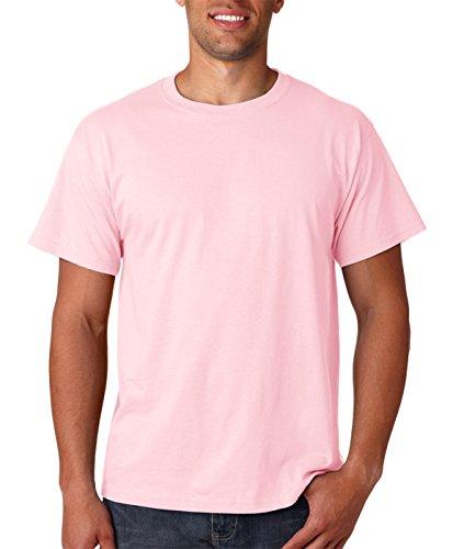 Fruit of the Loom Herren T-Shirt Pink