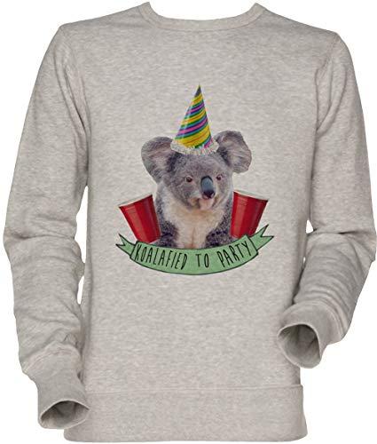 Vendax Koala-Fied to Party Unisex Sweatshirt Grau