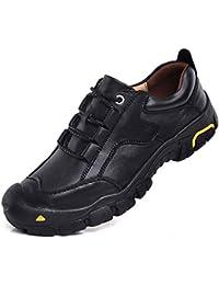 GLSHI Gli Uomini Escursionismo All Aperto Scarpe da Passeggio in Pelle di  Moda Utensili Scarpe 6cd68a331a9
