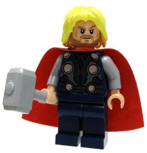 LEGO Super Heroes: Thor Minifiguren Mit Hammer (Lego Super Heroes-thor)