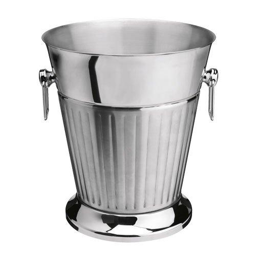 Unbekannt Flaschenkühler silber ØxH=21,5x24,5 cm; Ø unten = 17 cm 1 St.