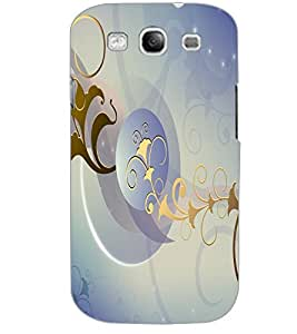 SAMSUNG GALAXY S3 ART Back Cover by PRINTSWAG