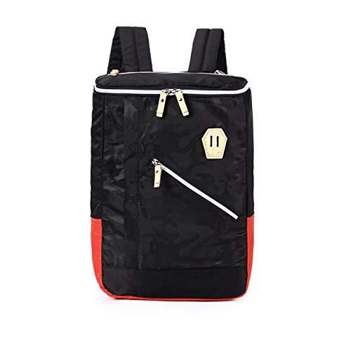 RUIDI Modenschau, Studentinnen, Bäcker, Männer, Schultern, Kreativität, Notebook-Taschen, Reisende. 28 * 34 * 11cm/Blau + Rot -