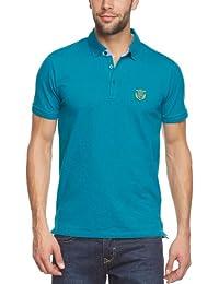 SELECTED HOMME Herren Poloshirt 16021363 Aro embroidery