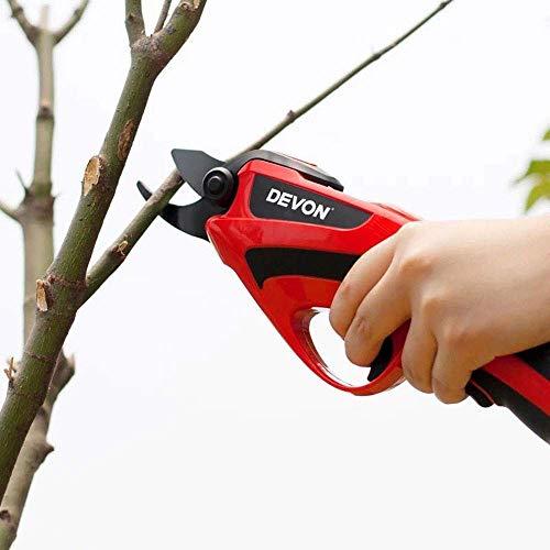 Kuan-Pruning shears Haushalt elektrische Gartenschere, eingebaute wiederaufladbare Lithium-Batterie Gartenschere, ist es für Garten, Bonsai, Bäume, Blumen und andere Beschneiden geeignet.