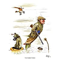 """""""Wet Weather Warrior"""" Shooting Greeting Card by Bryn Parry"""