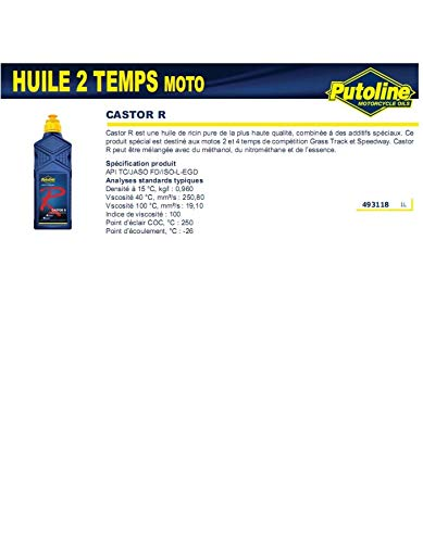 Putoline Olio di Ricino Purecastor R, 1L