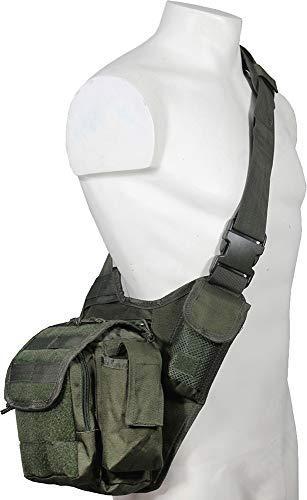 Sling Bag multifunction oliv (Patch Sling Handtasche)