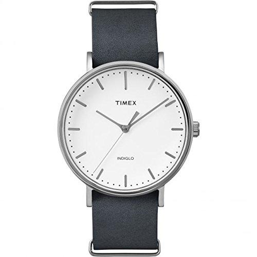 2df6195366ab Timex Unisex Reloj de pulsera analógico cuarzo Nylon tw2p9 1300