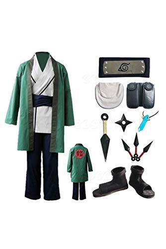 Cosplay Kostüm Tsunade - RedJade Naruto Tsunade Komplett Set Cosplay Kostüm Herren XL