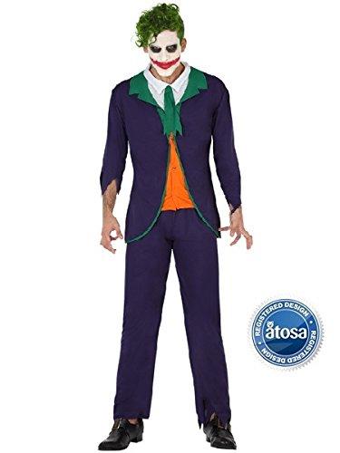 Costume Joker XL.Costumi Halloween Uomo