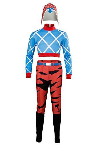 MingoTor Goldener Wind Halloween Outfit Cosplay Kostüm Herren XXXL