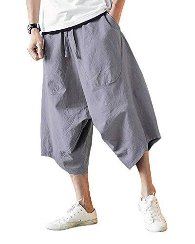 Minetom Chino Hose Herren, schwarz Top Qualität | Moderne Stoffhose, Baumwollhose für Männer | Leichte Sommer-Hose, Freizeithose Regular fit für Herren und Jungen Grau XL Ss-chino-hose
