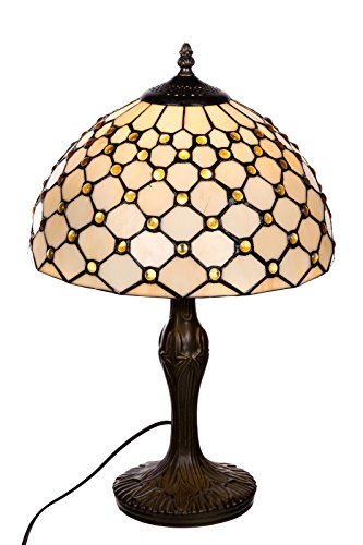 Tischlampe im Tiffany Style, Tiff 131, Tischlampe Motiv Lampe , Dekorationslampe, Tiffany Style, Glaslampe, Leuchte ,Tischlampe, Stehleuchte, Stehlampe, Leuchte Lampe