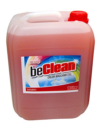 Color-Flüssigwaschmittel red orange 10 Liter Kanister