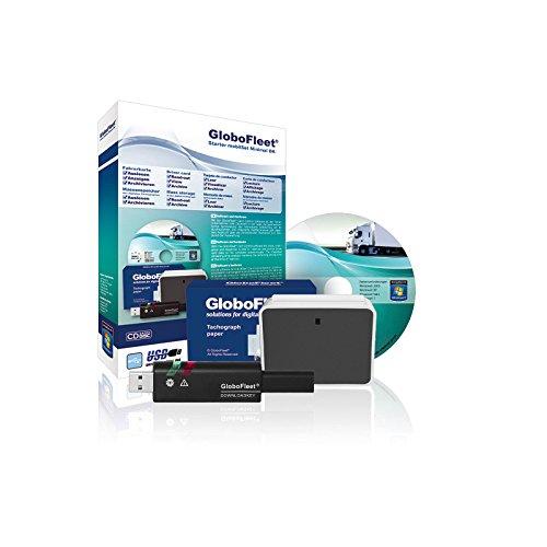 Preisvergleich Produktbild GloboFleet Starter Set Minimal DK Mobil für selbstfahrende Unternehmen zum auslesen und archivieren der Fahrerkarte mit Chipkartenleser und Downloadkey