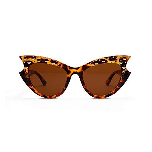 Drreny Rivet Sonnenbrille_18550 Cat Eye Rivet Sonnenbrille Europa Und Die Vereinigten Staaten Big Box Twilight