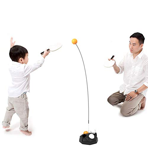 r elastische weiche Welle schnelle Rebound Ping Pong Ball Trainingsgerät Trainingsreaktion, elastische weiche Welle Tischtennis Spielzeug Training Rebound Ping Pong mit Schläger ()
