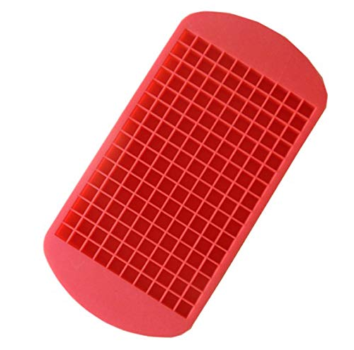 muxiao Silicone Tray Mould Red Blue Silica Gel Ice Cube Tool White Tray