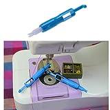 1Pc Infila Aghi Stitch utensile apposito per Manuale Macchina da Cucire Aghi Inseritore Infila Aghi Strumento per Cucire