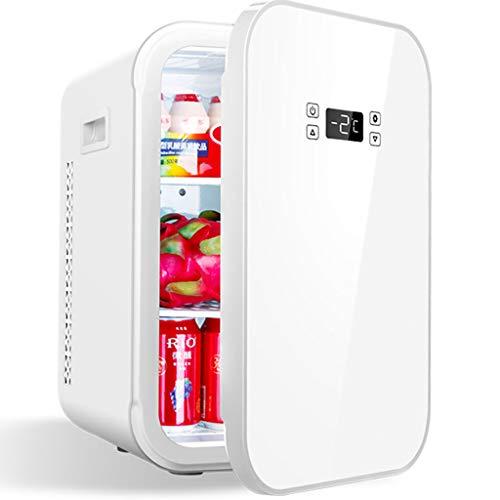 Mini Nevera Blanco, 12L Portátil Frigorífico Refrigeración