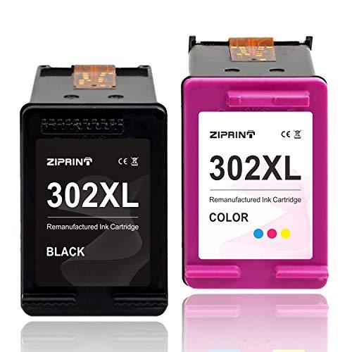 ZIPRINT Kompatibel HP 302XL HP 302 Multipack Druckerpatrone für HP DeskJet 1110 DeskJet 2130 3630 3636 3639 OfficeJet 3830 3831 3833 OfficeJet 4520 4525 4527 4650 4652 4655 5230 Envy 4520 4525