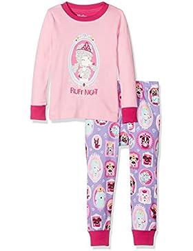 Hatley Long Sleeve Appliqué Pyjama Sets, Set Pigiama Bambina