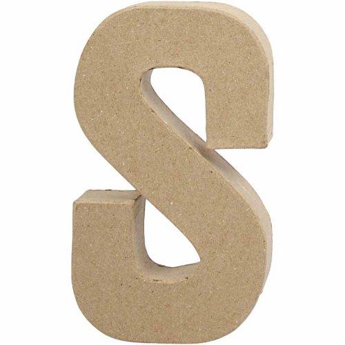 creativ-205-cm-1-piece-papier-mache-letter-s