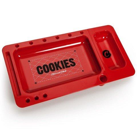 Cookies Harvest Club Plateau à rouler en couleur rouge avec petit plateau amovible vendus par Trendz
