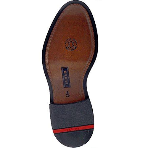 LLOYD hUDSON noir 14–145–00 lLOYD-classic-chaussures à lacets-brillants et peaux épilés de bovins-semelles en cuir Noir