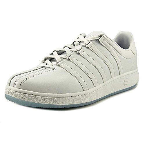 K-Swiss Classic VN Cuir Baskets White-Placid Blue