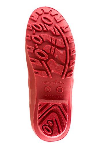 MEI , bottes en caoutchouc femme Rouge