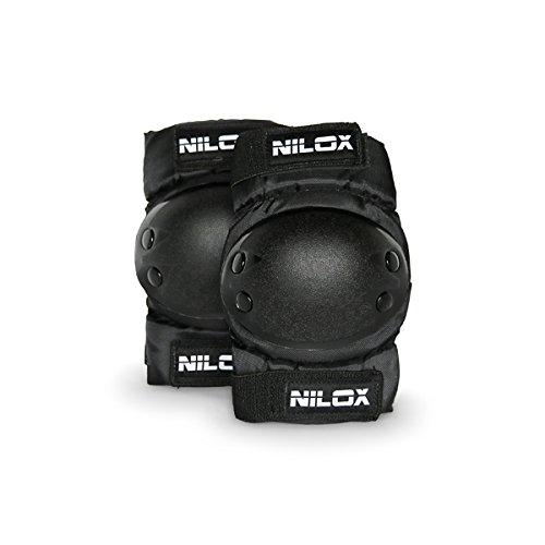 Nilox Kinder KIT Protection Hoverboard Protektoren Set Knie Und Ellbogenschützer, schwarz, One Size
