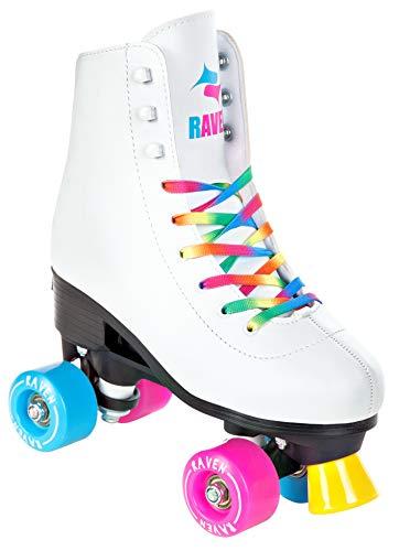 RAVEN Rollschuhe Roller Skates Iris verstellbar (35-38(22,5cm-24cm))