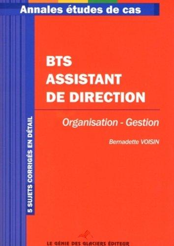 BTS assistant de direction