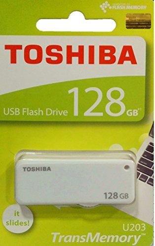 Toshiba Yamabiko 128GB USB Pendrive (White)