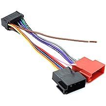 XCSOURCE® 15cm 16 pines de Radio Estéreo de Coche ISO Adaptador de Cable de adaptador de repuesto para Sony cabeza de coche unidad MA716